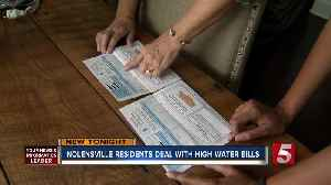 Nolensville Residents Deal With High Water Bills [Video]