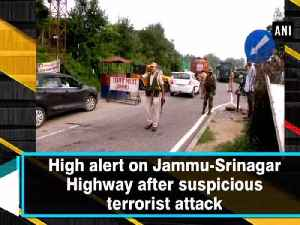 High alert on Jammu-Srinagar Highway after suspicious terrorist attack [Video]