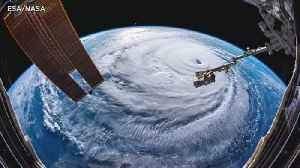 Hurricane Florence from space [Video]
