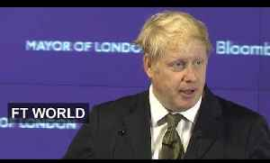 Boris Johnson - UK could exit EU and thrive [Video]