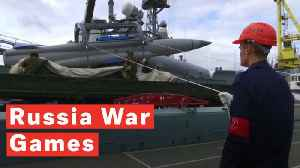 Russia Kicks Off Biggest-Ever War Games Since Fall Of Soviet Union [Video]