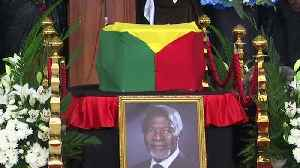 Mourners pay respects to Kofi Annan ahead of funeral [Video]