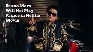 Bruno Mars Will Not Play Prince in Netflix Movie [Video]