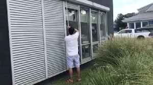 Virginia Beach Shutters Up for Hurricane Florence [Video]