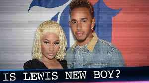 Nicki Minaj & Lewis Hamilton Rev Up Dating Rumors, Is He 'New Boy?' [Video]