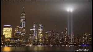2 beams of light in NYC commemorate 9/11 victims [Video]