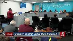 New School Board Chair Elected Amid Controversy [Video]