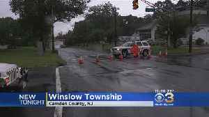 Severe Flooding Causes Stretch Of White Horse Pike To Close In Winslow Township [Video]