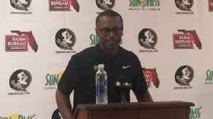 FSU coach Willie Taggart discusses Samford win, looks ahead to Syracuse [Video]