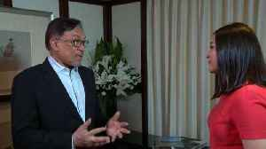 Malaysia's Anwar Says He Has 'Excellent' Ties With Prime Minister Mahathir [Video]