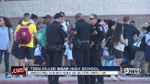 Teen dead in shooting at Canyon Springs High School in North Las Vegas [Video]