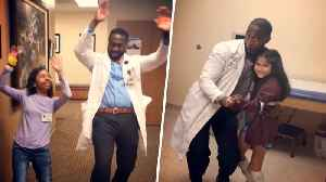 News video: 'Dancing Doctor' Busts a Move to Cheer Up Sick Kids