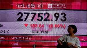Asia Shares Hit 14 Month Low [Video]