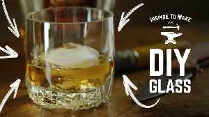 DIY glass for whiskey: Cut a glass bottle in 3 simple steps [Video]
