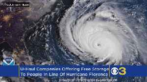 U-Haul Offering 30 Days Free Self-Storage At 94 Locations Ahead Of Hurricane Florence [Video]