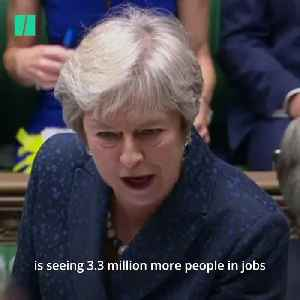 May And Corbyn Clash Over Universal Credit [Video]