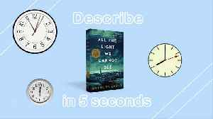 5 Second Summaries with Off the Shelf: ALL THE LIGHT WE CANNOT SEE [Video]