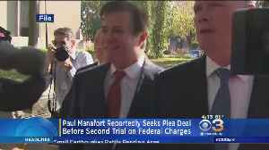 Manafort Reportedly Seeks Plea Deal Before Second Trial [Video]