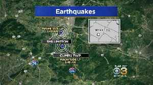 Small Earthquakes Rattle Reading Area [Video]