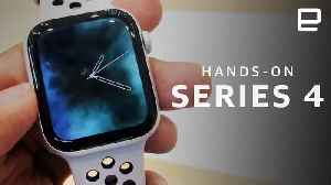 Apple Watch Series 4 hands-on LIVE [Video]