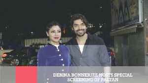 Debina Bonnerjee Hosts Special Screening Of Paltan [Video]