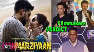 "Abhishek Bachchan, Taapsee Pannu and Vicky Kaushal have promoted their film ""Manmarziyaan"" in a very electrifying way. They  [Video]"