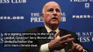 California Commits to Clean Energy by 2045 [Video]