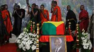Kofi Annan Receives Final Farewell At State Funeral [Video]