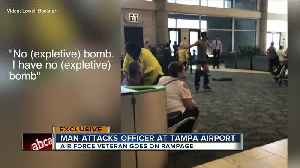 Unruly traveler arrested after making scene at TIA because of flight delay [Video]