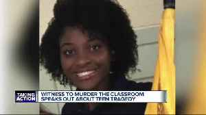 Teen girl dies after being stabbed during fight at Fitzgerald High School in Warren [Video]