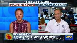 Brock Long Discusses Florence [Video]