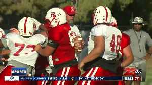Renegades football looking to improve on offense [Video]