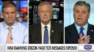 Mark Meadows: We have the names of the reporters Peter Strzok leaked to [Video]