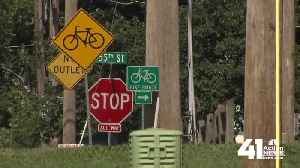 Shawnee examining intersection after car strikes boy riding bike [Video]