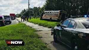 No students injured after Pasco school bus crash [Video]