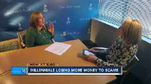 More millennials lose money in scams than elderly, new data shows [Video]