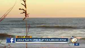 News video: Locals plan to offer relief for hurricane victims
