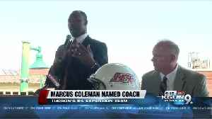 Marcus Coleman is named head coach for Tucson's IFL team [Video]