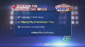 News video: Friday Football Frenzy Game Of The Week September 14th Atlantic City @ Washington Township