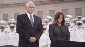 Vice President Pence At Pentagon 9/11 Memorial: Heroes Give Us Hope [Video]