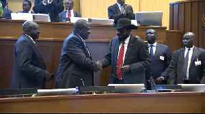 South Sudan president signs peace deal with rebel leader [Video]