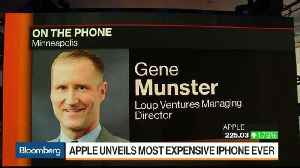 Apple Shows Mastery of Pricing Tiers With New iPhones, Munster Says [Video]