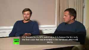 Russians accused by UK in spy case say they were in Salisbury for tourism [Video]