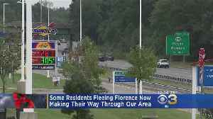 Residents Evacuate To The Delaware Valley Ahead Of Hurricane Florence [Video]