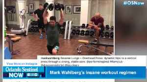 Mark Wahlberg's insane schedule will inspire or depress you [Video]