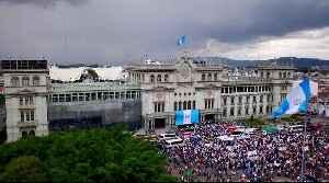 Guatemalans protest against Morales' annulment of CICIG [Video]