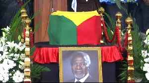 Former UN chief Kofi Annan laid to rest in Ghana [Video]