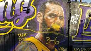 LeBron James Gets His Sickest Mural Yet [Video]