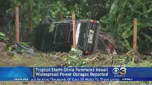 Tropical Storm Olivia Pummels Hawaii, Causes Widespread Power Outages [Video]