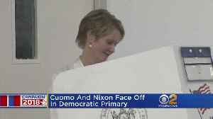 News video: New Yorkers Turn Out To Cast Their Voters